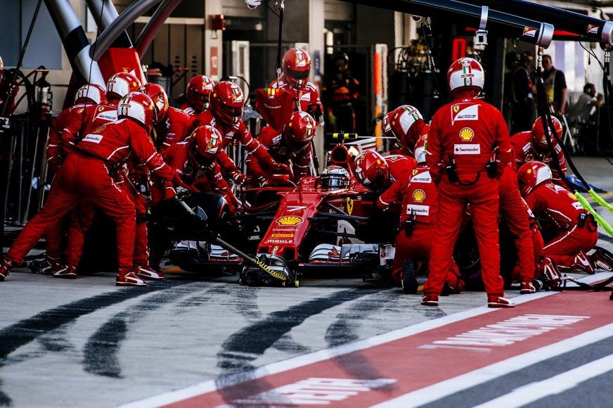 (8)13. Kimi Raikkonen at Russian Grand Prix at Sochi