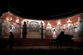 El pianista ruso Sokolov en el Palau de la Música Catalana