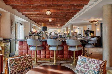 Interior del club Soho House