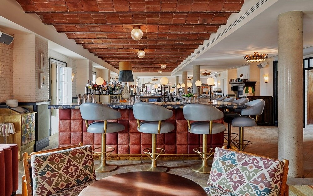 Interior del club Soho House