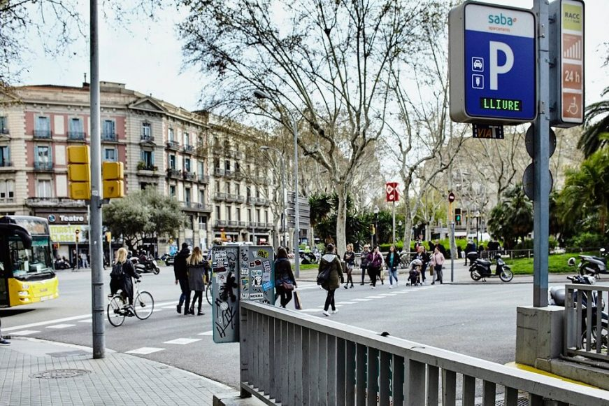 plaça urquinaona barcelona