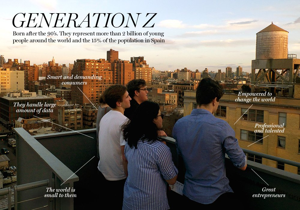 More Than 90 Of Generation Z Is >> Generation Z Have Grown Up The New Barcelona Post
