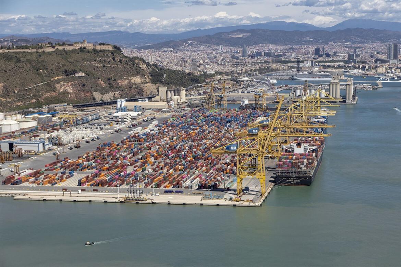 Contenidors Port de Barcelona