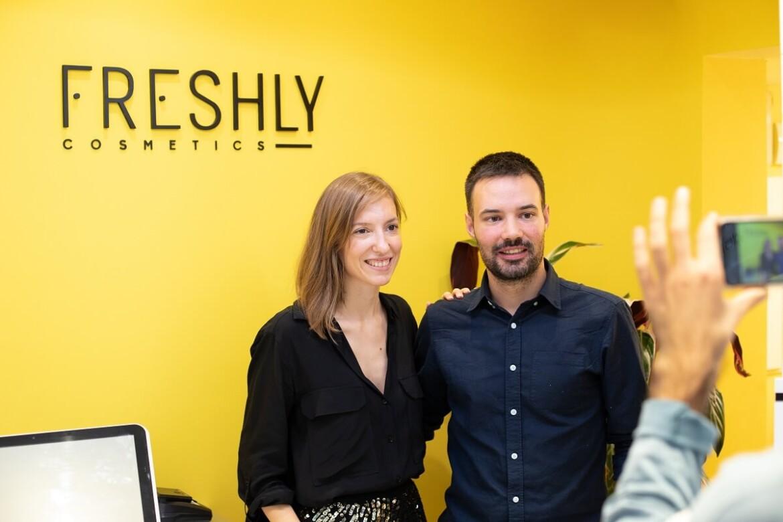 Los fundadores de Freshly Cosmetics