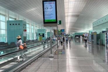 Interior T1 Aeroport Barcelona