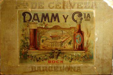 LA FÁBRICA DE DAMM EN LA CALLE ROSSELLÓ, CONOCIDA COMO LA BOHEMIA, SE ESTRENÓ EN 1905.