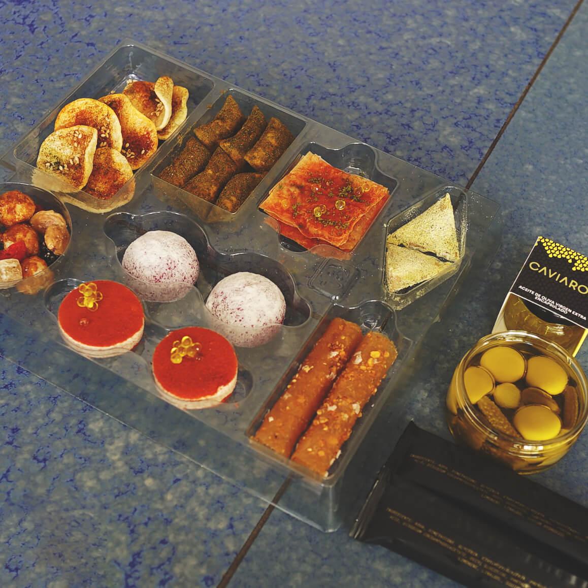 La caja de snacks del Disfrutar Compartir © Disfrutar