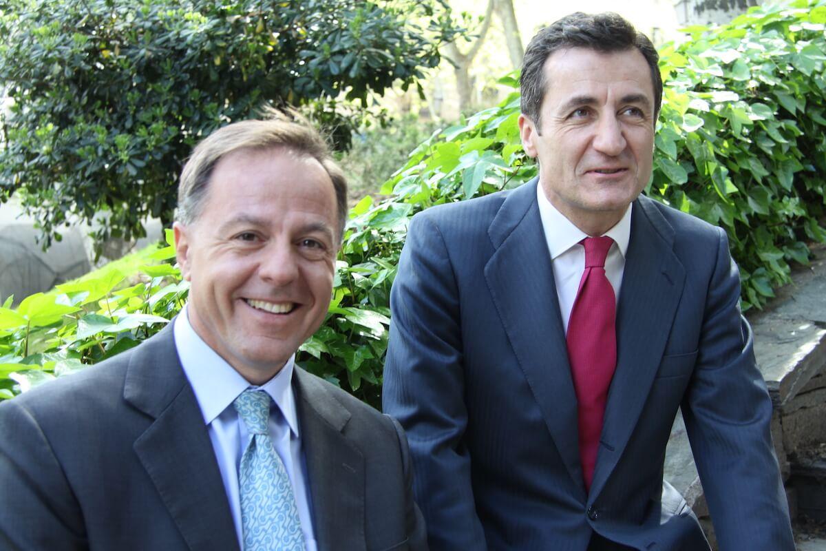 Los consejeros delegados de Nazca Capital, Carlos Carbó y Álvaro Mariátegui.