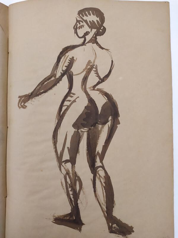 Miró va ser un assistent assidu al centre i la seva vídua va regalar un dibuix de l'artista a l'entitat.
