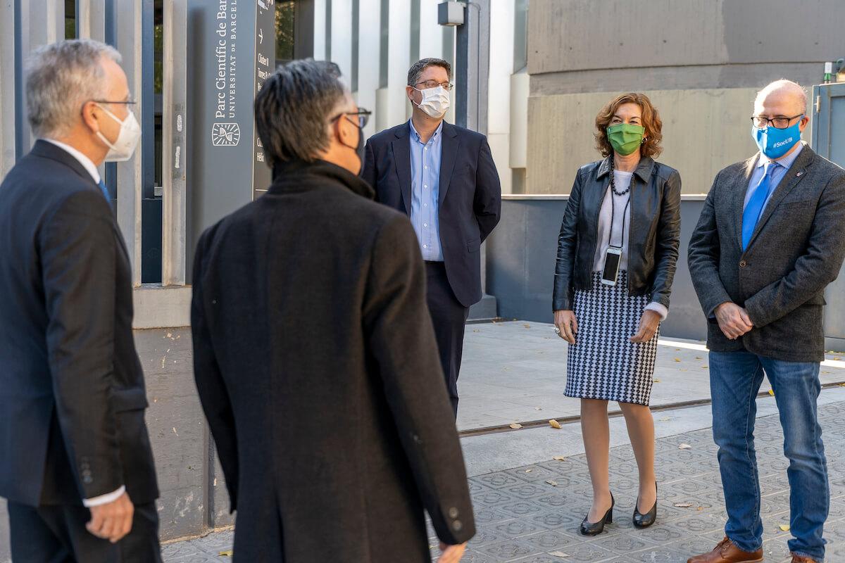 Inauguración de la nueva planta de Qiagen en el Parc Científic de Barcelona.