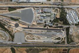 Panoràmica del complex d'Applus+ Idiada a Santa Oliva (Tarragona).