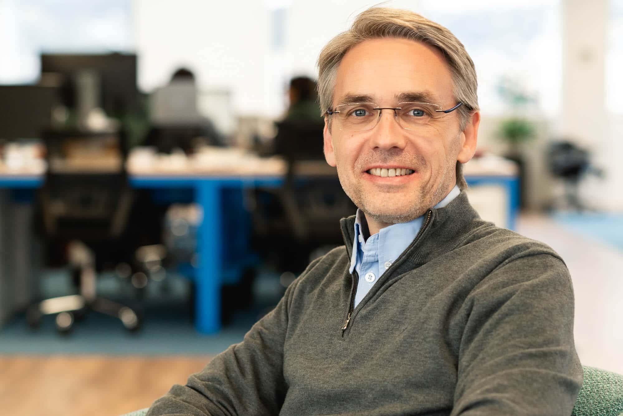 El director financiero de Worldsensing, David Deprez.