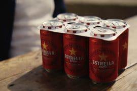 Damm llaunes cervesa sense plàstic