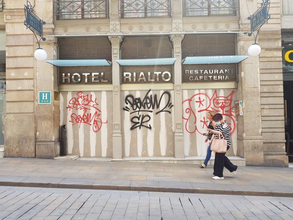hotel tancat Barcelona