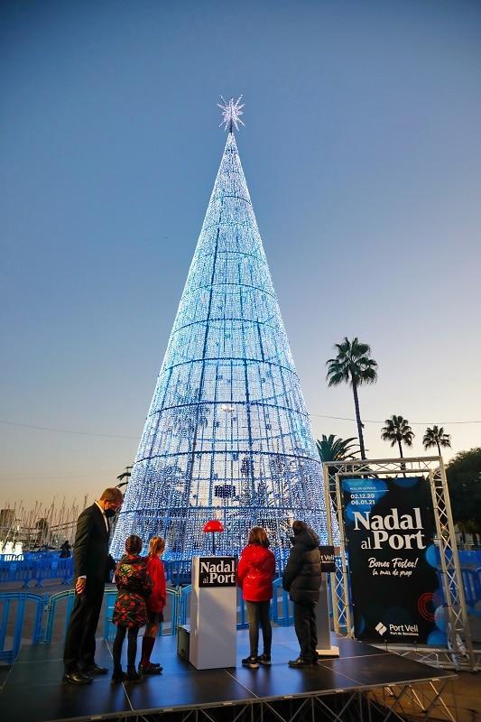 Árbol de Navidad de Nadal al Port