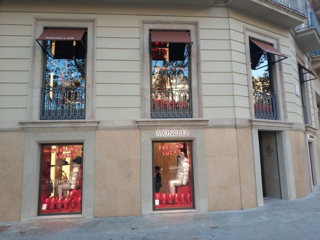 Tienda Moncler Barcelona