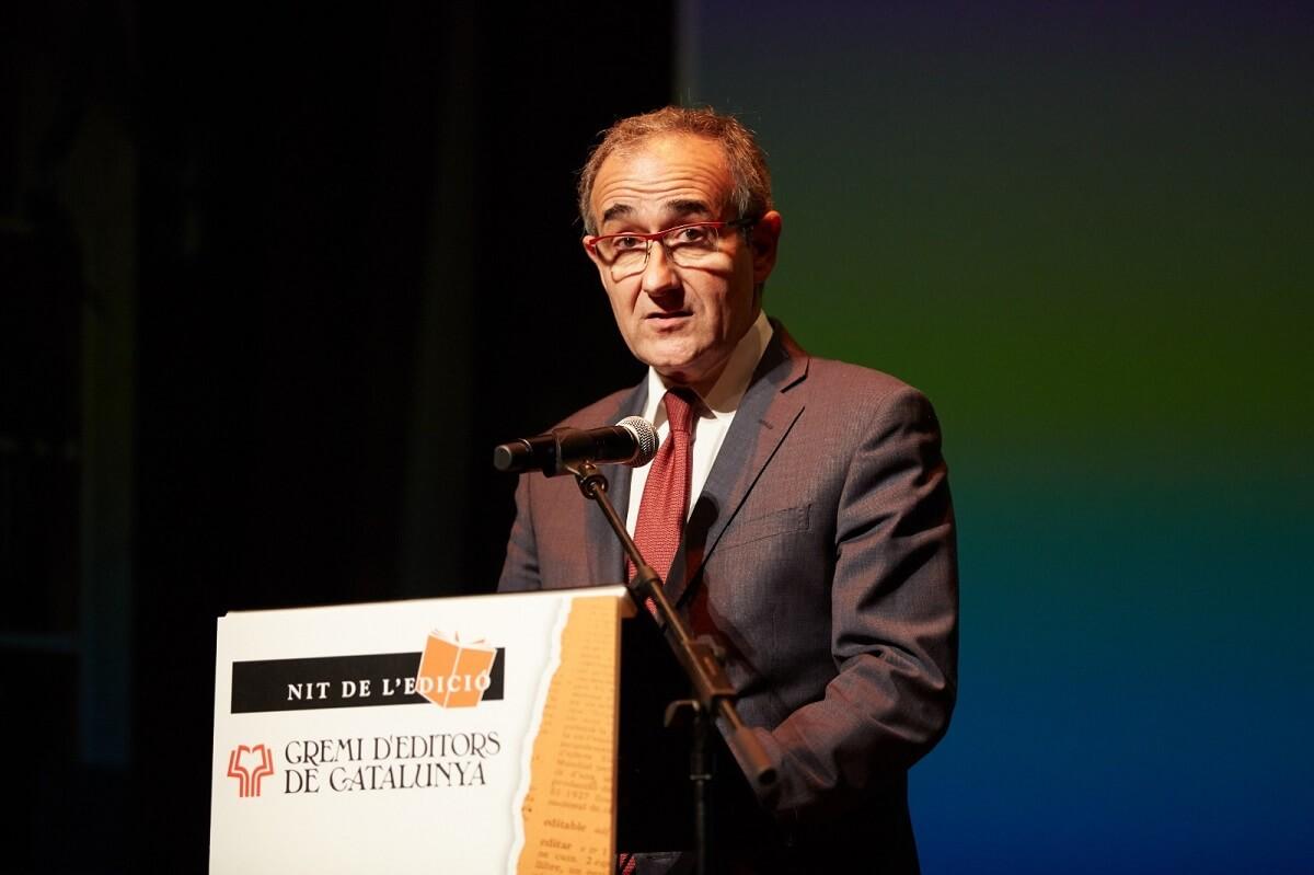 Presidente del Gremi d'Editors de Catalunya, Patrici Tixis