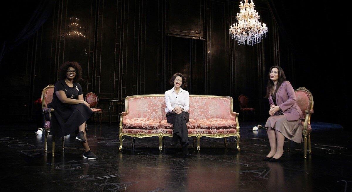 Pretty Yende, Lisette Oropesa y Kristina Mkhitaryan en el Liceu.
