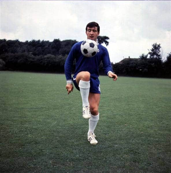 Terry Venables, futbolista.
