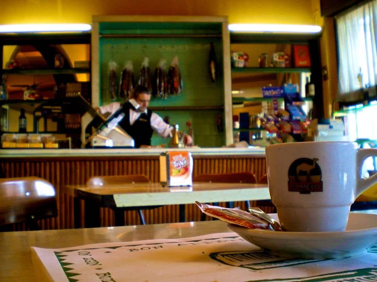 cafeteria de La Panadella
