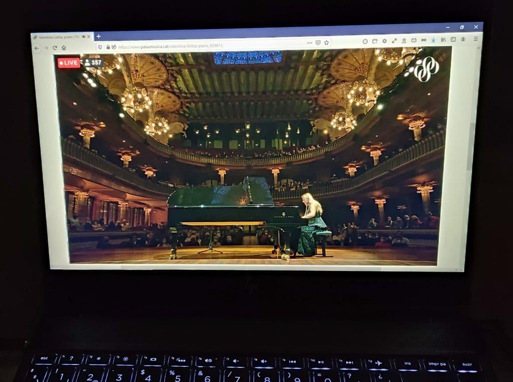 la pianista Valentina Lisitsa Palau de la Música
