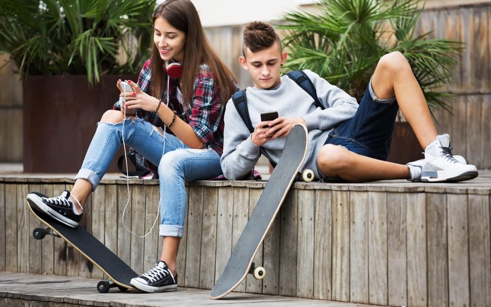 adolescents mòbil