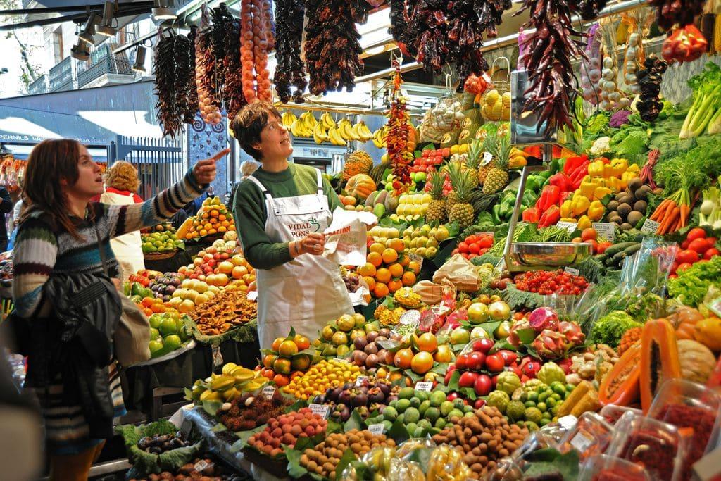 Fruita mercat municipal