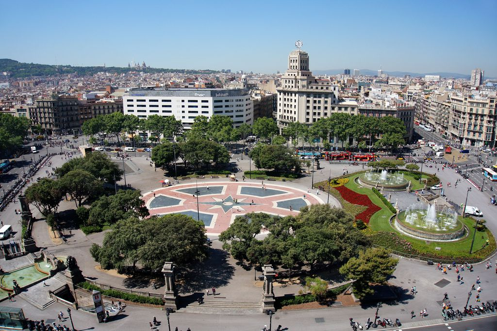 Plaça Catalunya Barcelona