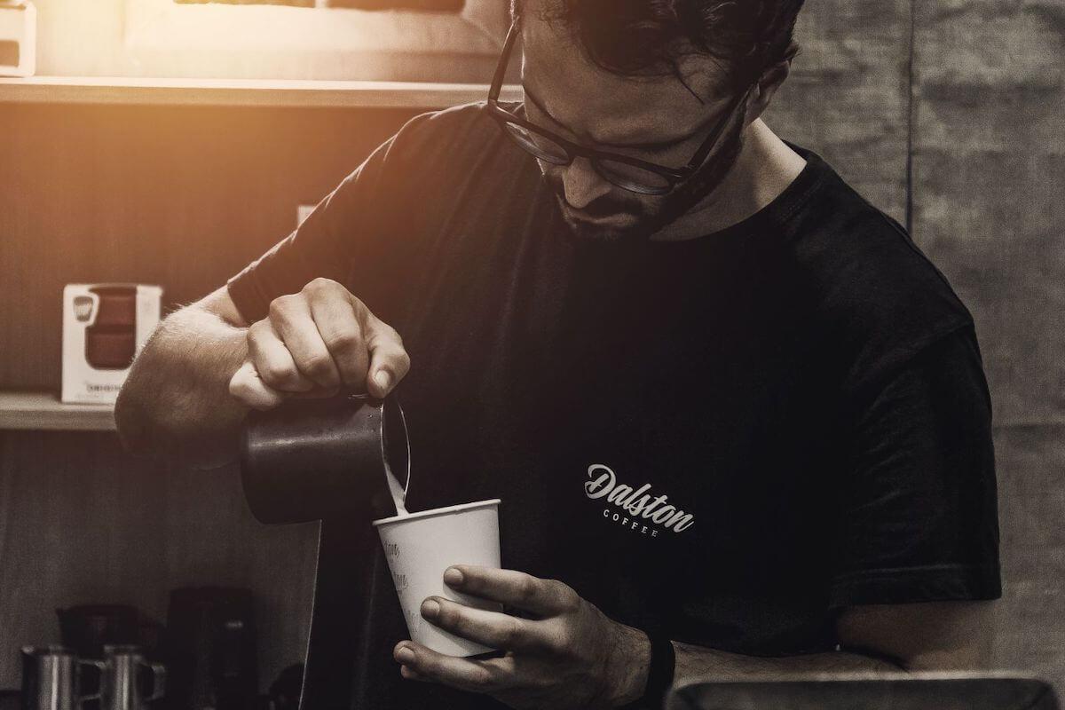 Dalston, café con leche