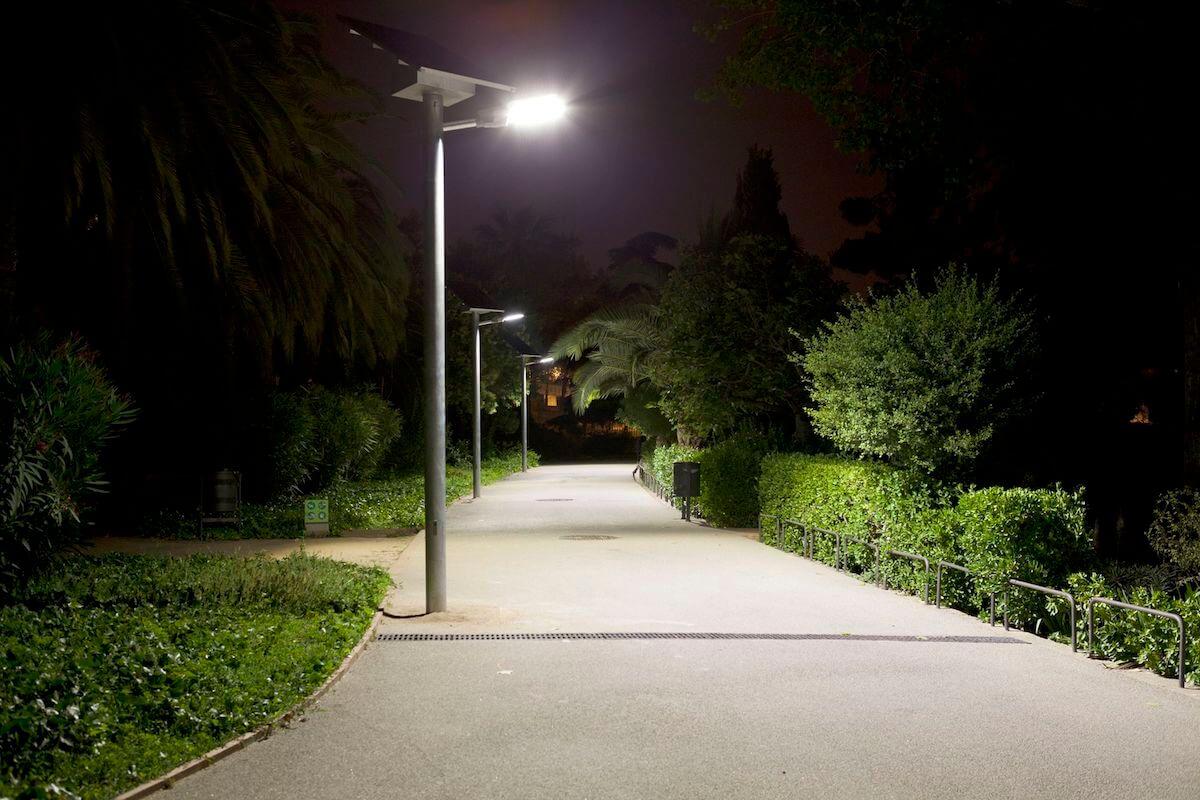 Iluminación calle Barcelona