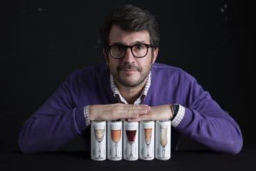 Joan Anton Romero Glass canned Wines