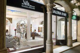 Galería de Arte Villa del Arte Passeig de Gràcia