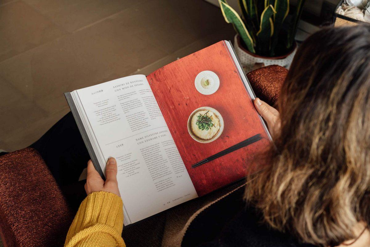 Libros gastronómicos que se degustan