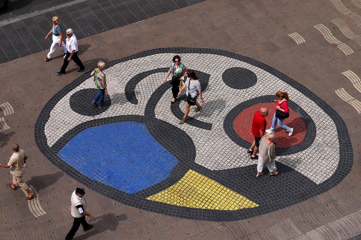Mosaic Joan Miró