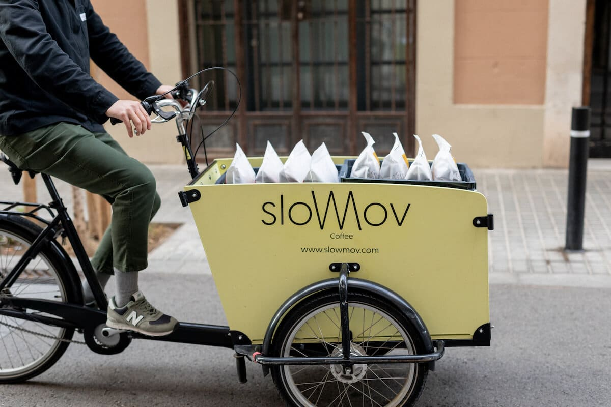 SlowMov reparte café por encargo.