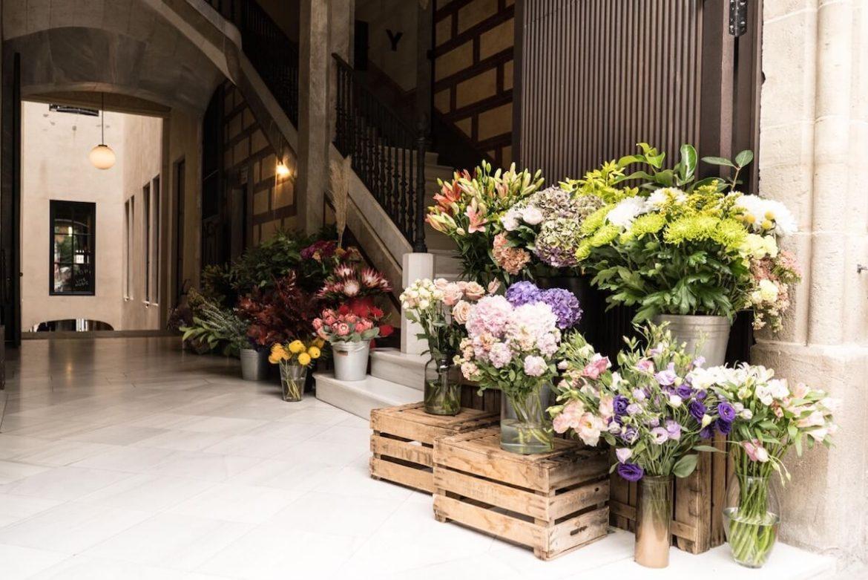 Passage Flowers en el Passatge de les Manufactures