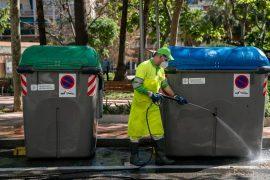 Treballador municipal servei neteja