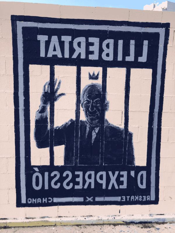 Grafiti libertad de expresión