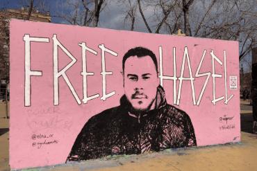 Grafiti Pablo Hasél