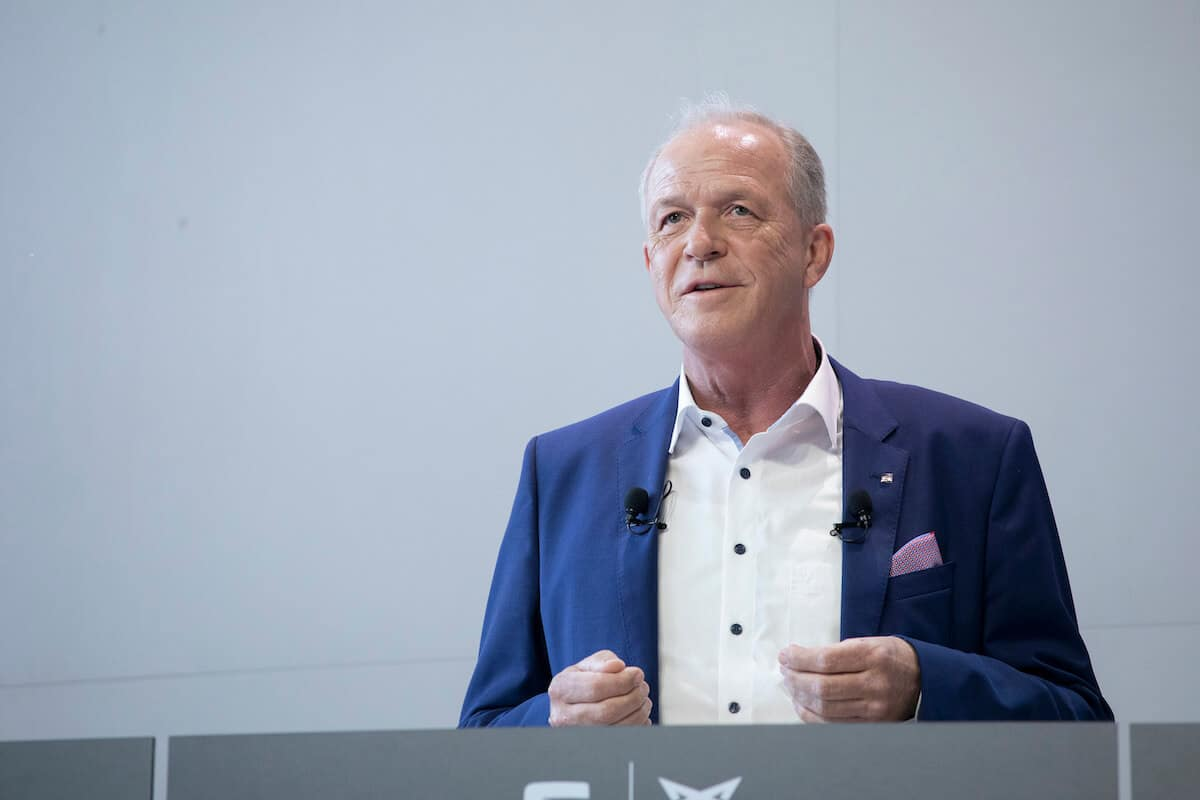 Vicepresidente ejecutivo de Finanzas y Tecnologías de la Información de Seat, Carsten Isensee.