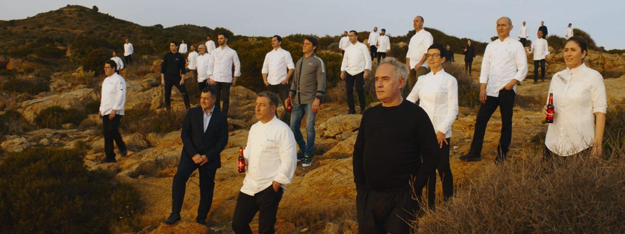 Damm cocina un spot de apoyo al sector de la restauración con 40 chefs