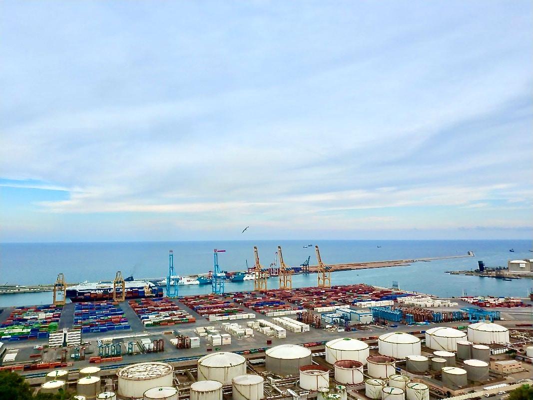 Terminal de contenidors del Port de Barcelona