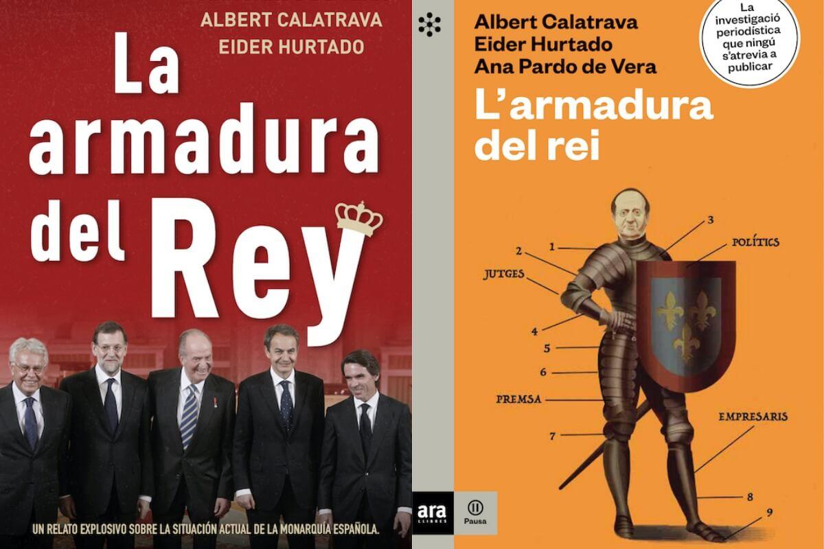 Portadas libro La Armadura del Rey