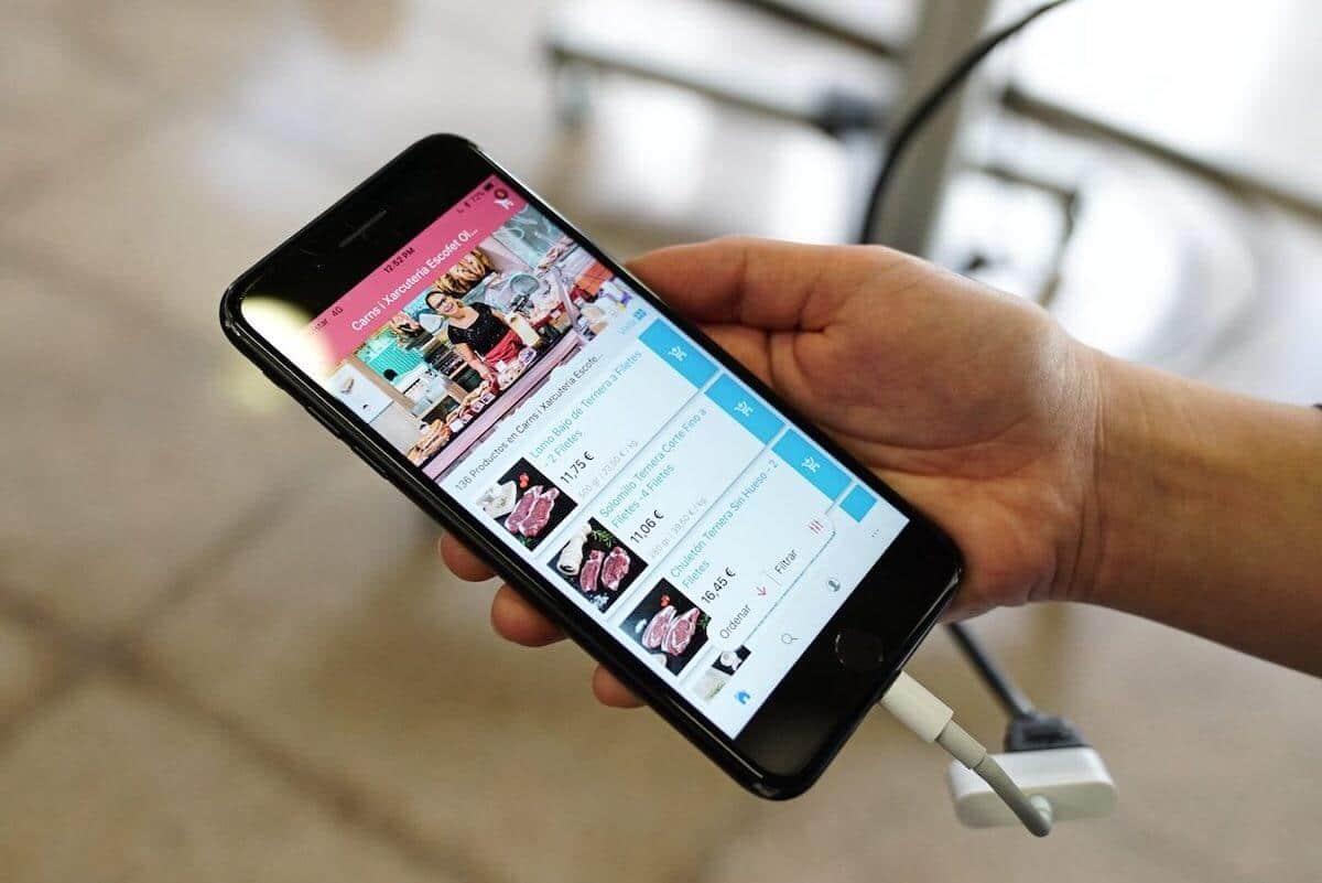 Prueba piloto de mercado digital de Ulabox en Mercado del ninot