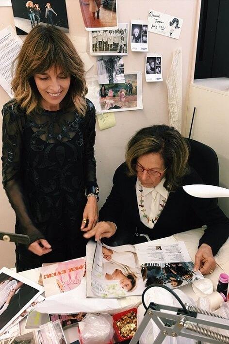 Teresa Helbig y su madre, Teresa Blasco