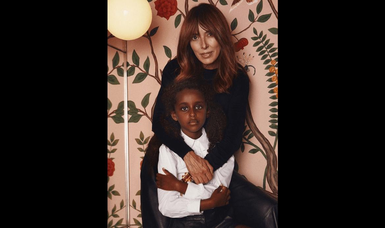 Teresa Helbig y su hija, Zinash