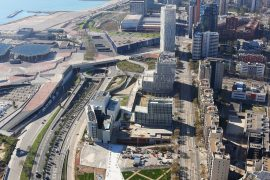 Vista aèria del Campus Diagonal-Besòs de la UPC
