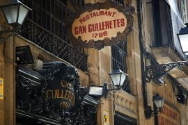 Can Culleretes, uno de los comercios emblemáticos de Barcelona