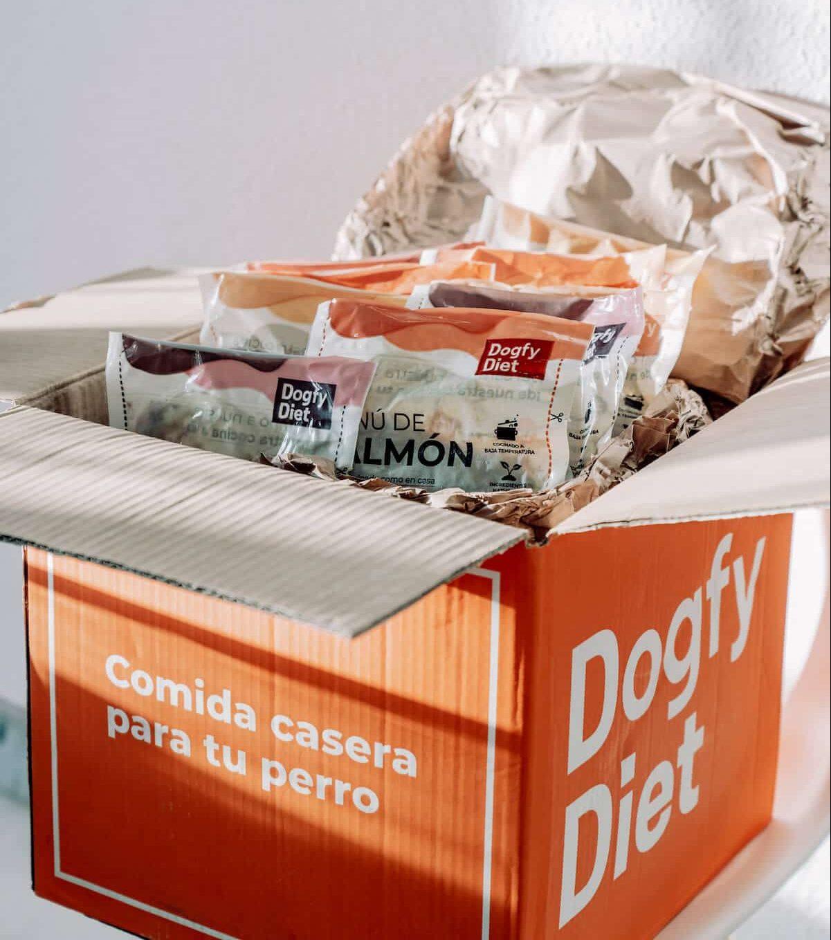 Raciones de comida Dogfy Diet