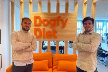Sergi Font y Gonzalo Noy, fundadores Dogfy Diet